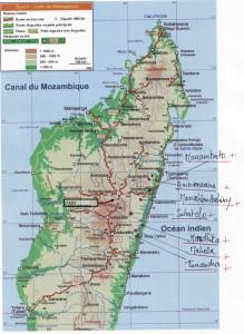 Mapa de desarrollo de la cooperación de energía